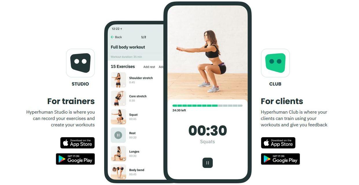 Hyperhuman lansează prima platformă digitală dedicată profesioniștilor în fitness