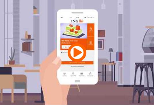 ING lansează creditul cu smartphone-ul