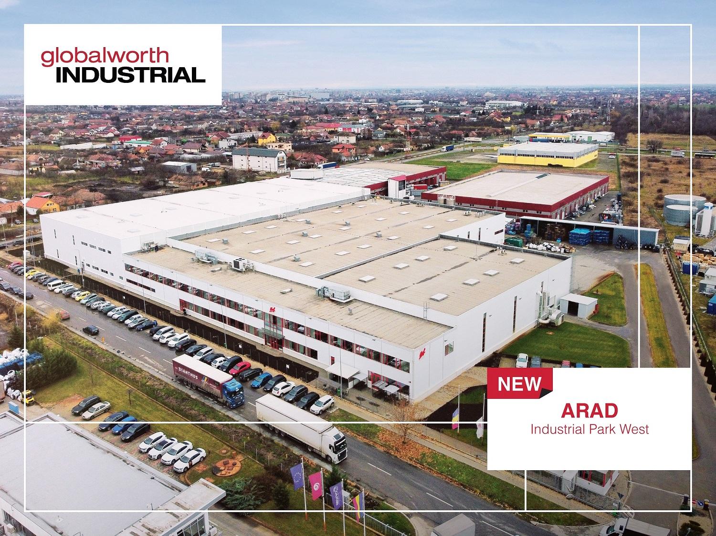 Globalworth își extinde activitatea industrială în Arad și Oradea