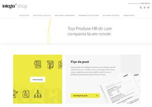 IntegraHR Shop, primul magazin online din România cu documente de HR profesioniste