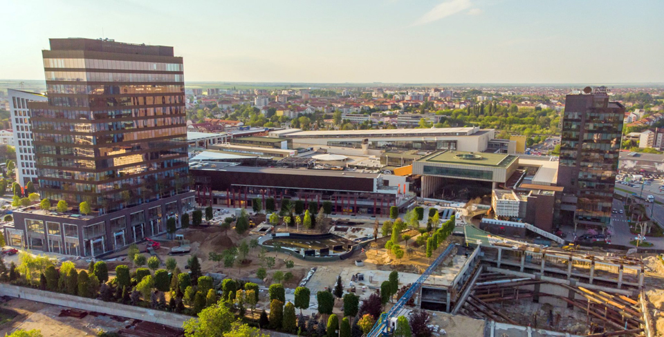 Prima fază a proiectului Iulius Town Timișoara va fi inaugurat pe 30 august
