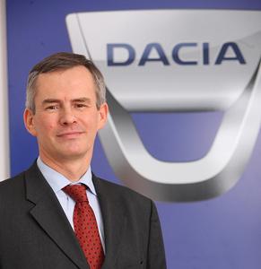 Jérome Olive a fost numit director general interimar al Automobile Dacia, în locul lui Antoine Doucerain