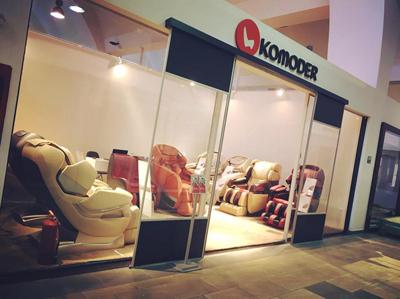 Distribuitorul de fotolii de masaj Komoder deschide showroom-uri noi în Iași, București și Sofia