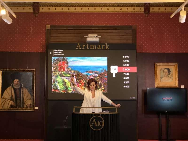 Platforma de licitații online Artmark LIVE a depășit 10.000 de conturi active