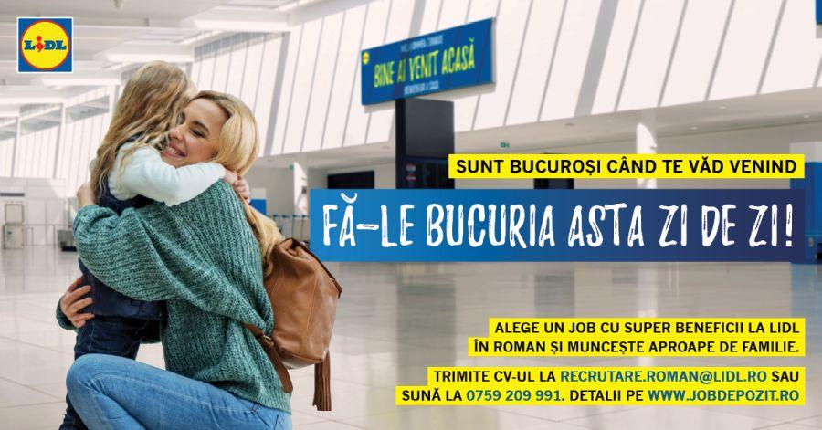 Campanie LIDL de recrutare in aeroporturi si vami pentru romanii care muncesc in strainatate