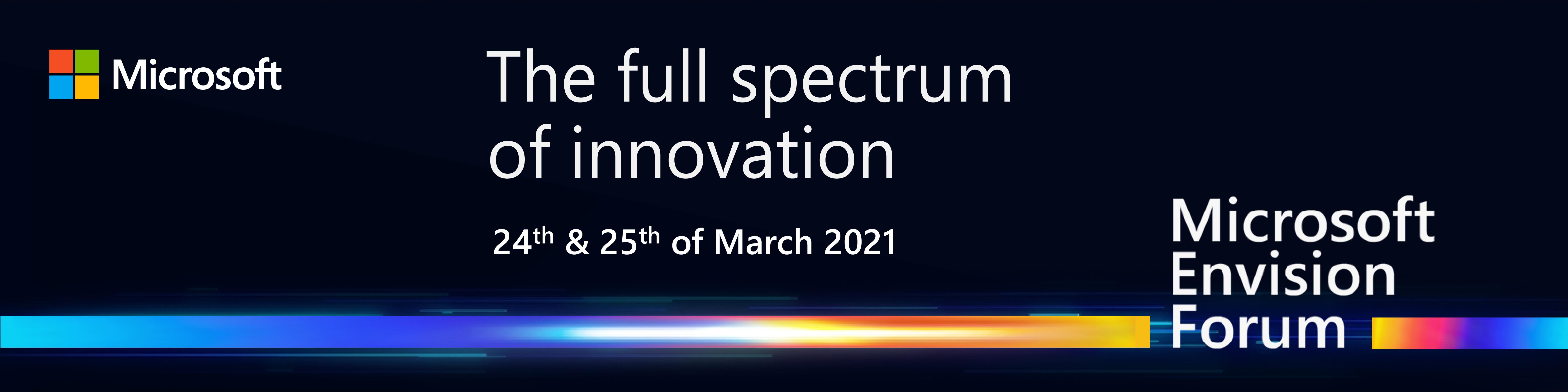 Microsoft Envision Forum 2021: totul despre inovație și transformare digitală