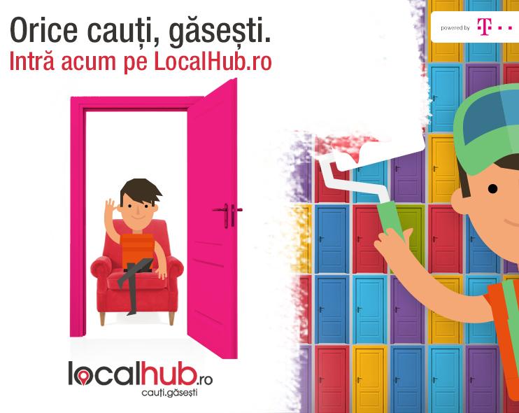 Telekom Romania lansează LocalHub.ro, o platformă pentru afacerile mici și mijlocii