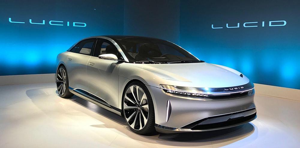 Lucid Motors, un start-up cu 600 milioane USD estimări de venituri în 2021, competiție serioasă pentru Tesla
