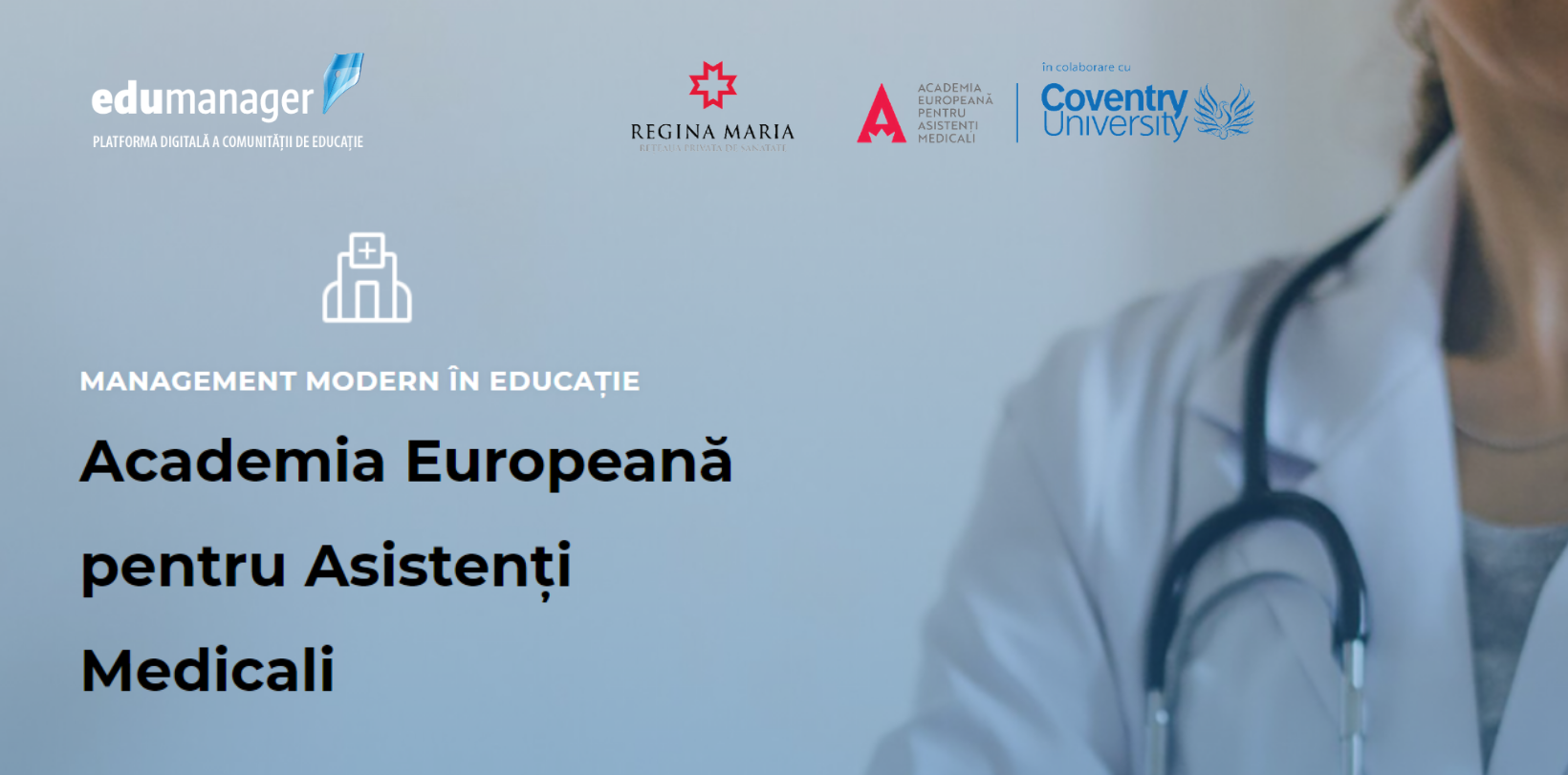 Comunitatea OSC – EduManager: Despre inovațiile și oportunitățile din domeniul educației medicale, discutate cu reprezentanții Academiei Europene pentru Asistenți Medicali
