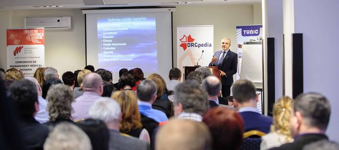 Conferinţele Naţionale de Management Medical Modern în Spitalele Publice debutează în perioada 11-13 martie la Iași