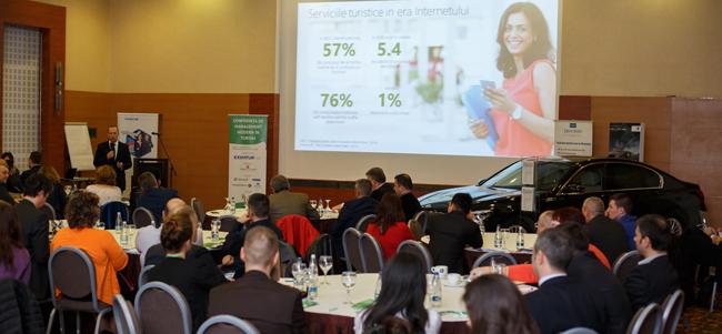 Peste 150 de specialiști din domeniu s-au întâlnit la prima ediție a Conferinței de Management Modern în Turism, organziată de Oameni și Companii