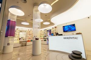 Farmec a lansat magazinele în franciză Gerovital