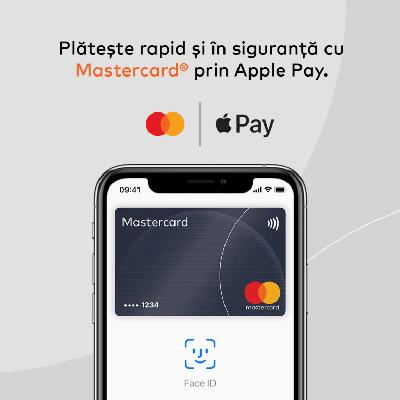 Mastercard lansează serviciul de plăți mobile Apple Pay în România
