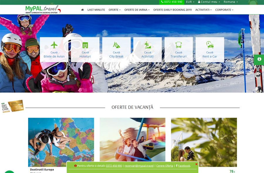 Fondatorii ViziteazaDelta.ro au investit aproape un million de euro în MyPal.travel, o platformă inteligentă de rezervări