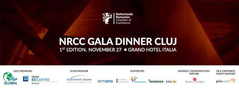 Prima editie NRCC Gala Dinner Cluj are loc pe 27 noiembrie