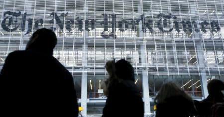 """Ziarul """"New York Times"""" anunță că are peste un milion de abonați la ediția digitală"""