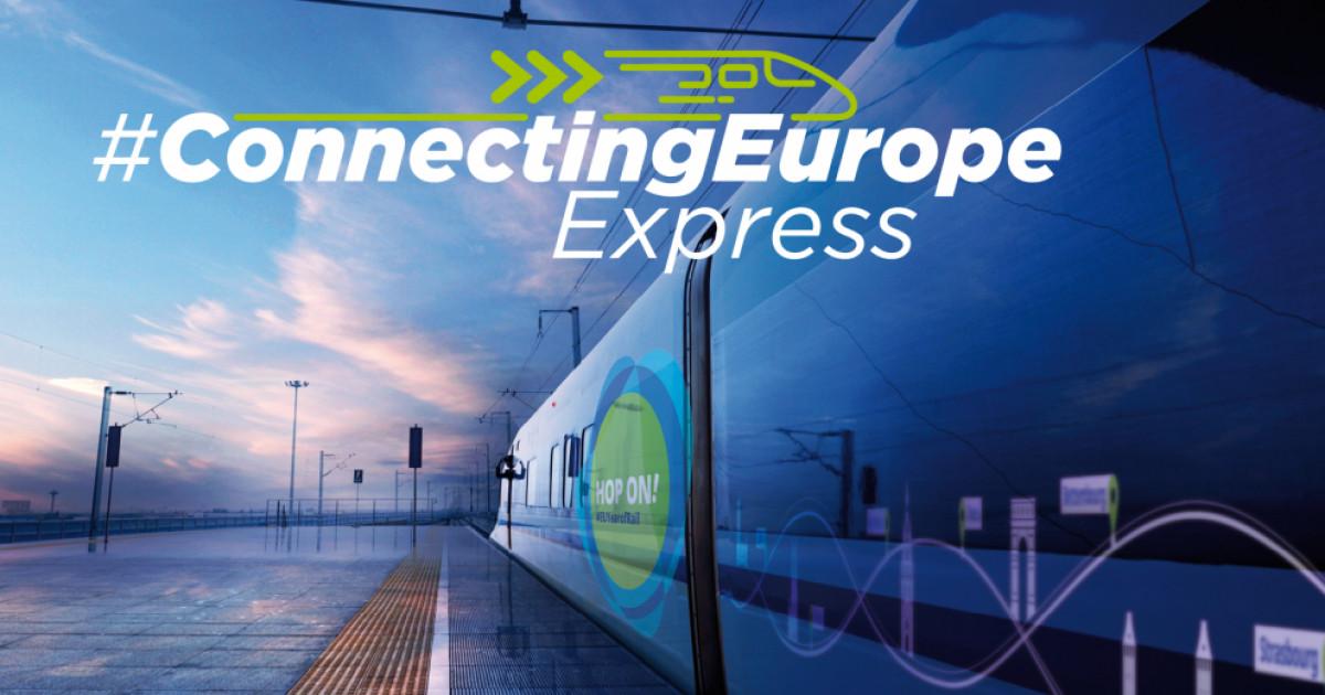 Connecting Europe Express, trenul special creat cu prilejul Anului european al căilor ferate