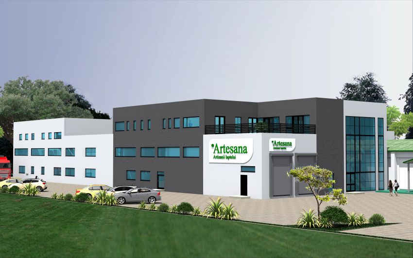 Producătorul de lactate artizanale Artesana investeşte 5 milioane de euro pentru construirea unei noi fabrici în Tecuci