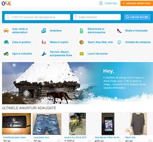 Pentru două luni consecutive, OLX.ro a fost cel mai vizitat site din România
