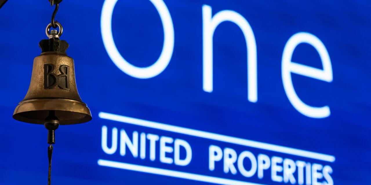 Compania One United Properties s-a listat la Bursă