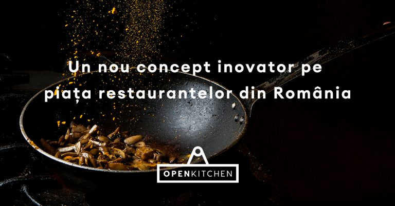 OpenKitchen lansează primele locații începând cu 15 ianuarie pe platformele de delivery din România