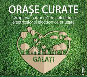 """Campania ECOTIC """"Orase Curate"""" ajunge in Galati"""