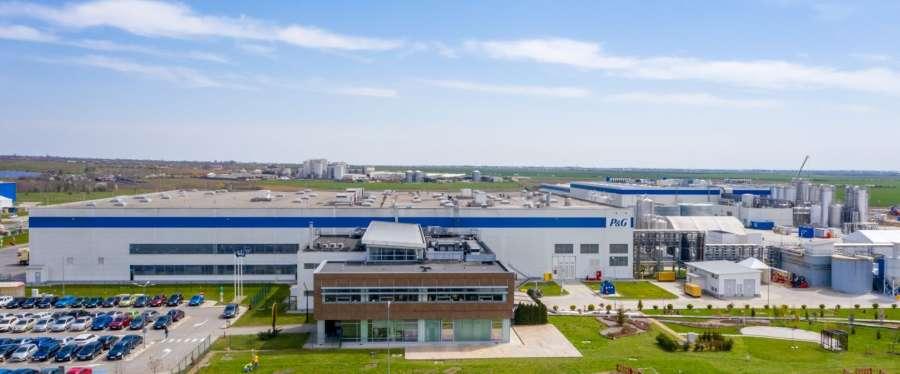 Procter & Gamble a inaugurat noua fabrică de la Urlați, unde produce detergent pentru unele state europene