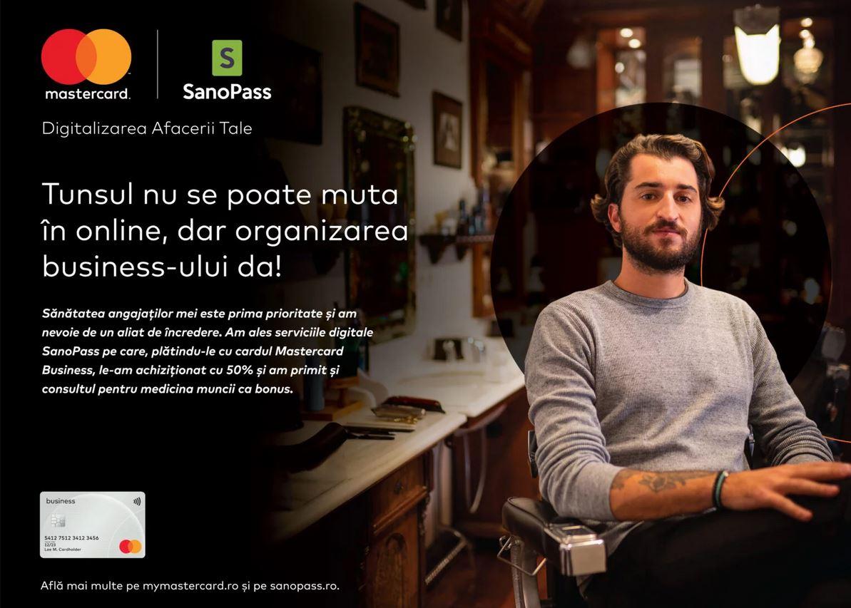 """Mastercard lansează """"Pachetul pentru Digitalizarea Afacerii tale"""""""