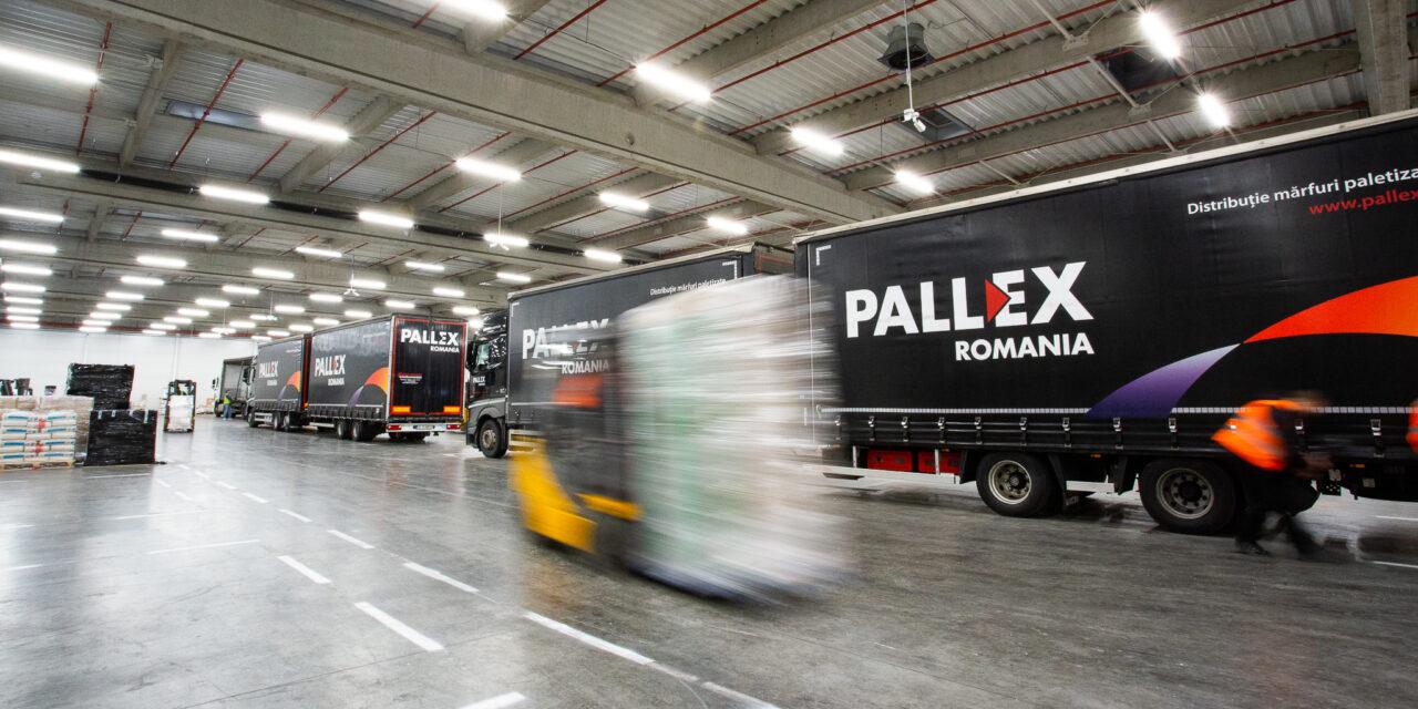 Pall-Ex România a depășit pragul de 4 milioane de paleți transportați