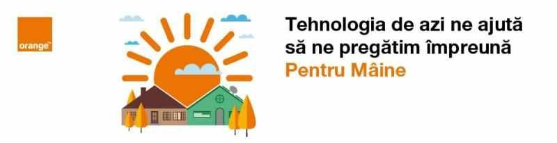 """Orange lansează platforma de responsabilitate socială """"Pentru Mâine"""""""