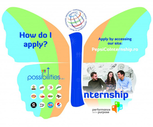 PepsiCo România organizează o nouă ediție de internship Butterfly Effect