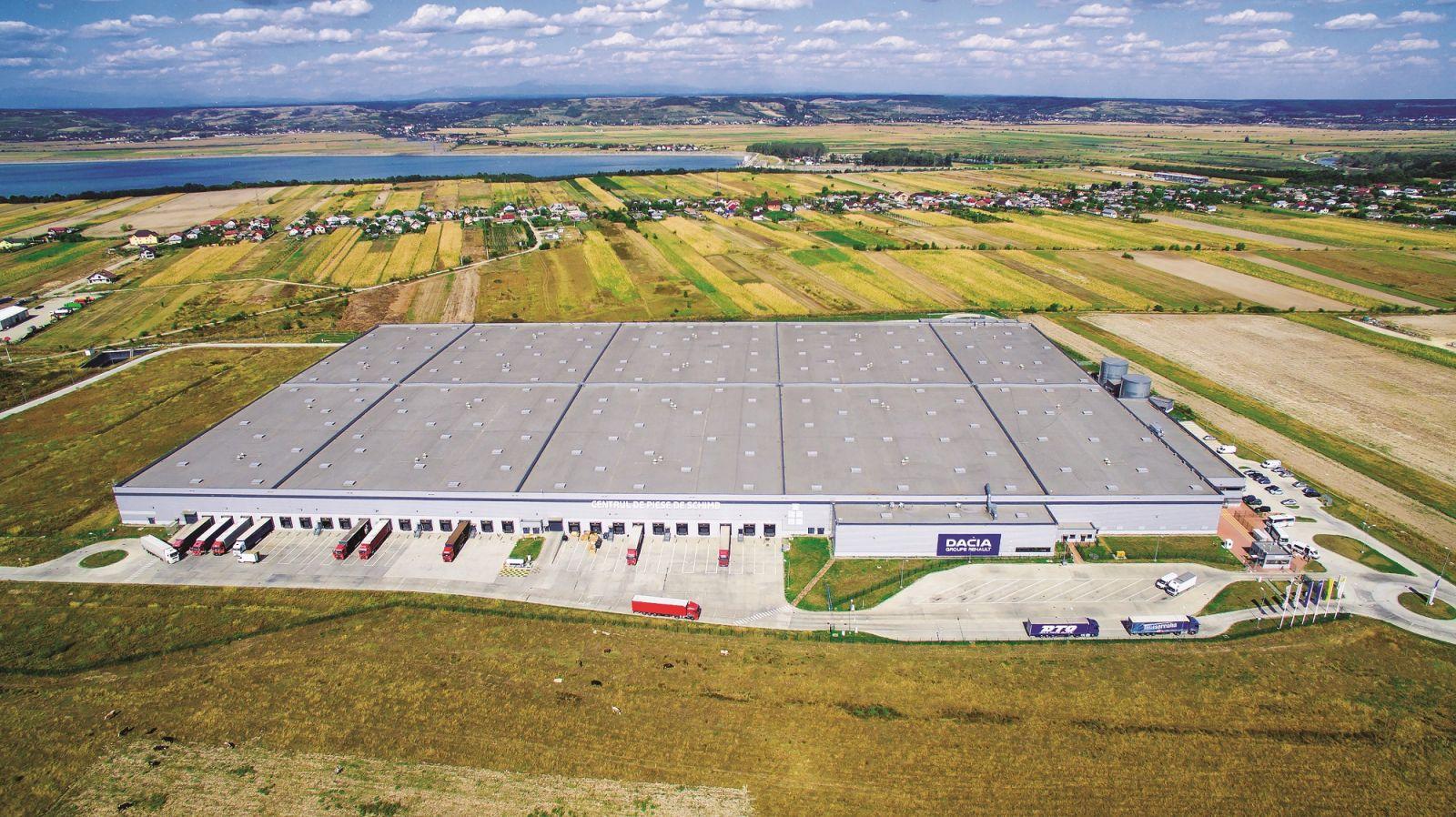 Automobile Dacia prelungeşte pe zece ani contractul de închiriere pentru Piteşti Industrial Park