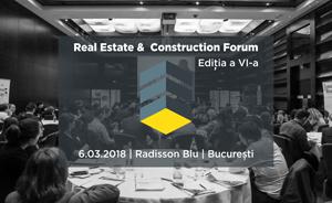 Real Estate & Construction Forum: Evoluția pieței de imobiliare și construcții pusă sub semnul analizei