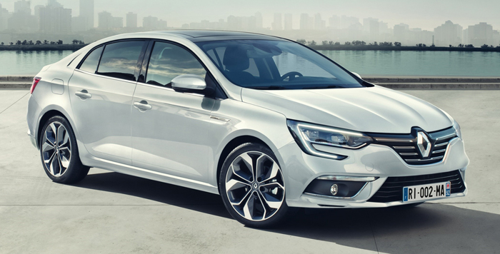 Noul Renault Megane Sedan oferă un pachet tehnologic caracteristic modelelor din segmentele superioare