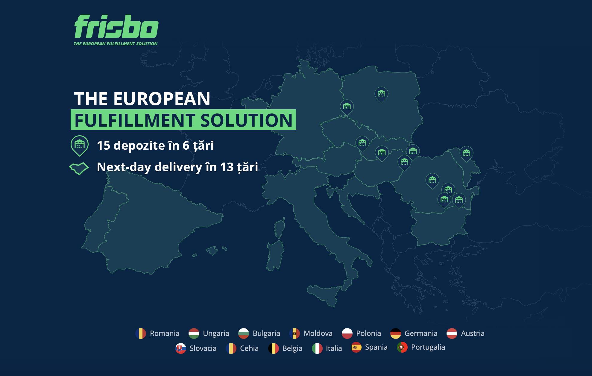 Startup-ul românesc Frisbo își extinde operațiunile în cinci noi țări, devenind cea mai mare rețea europeană de e-fulfillment cu livrare a doua zi