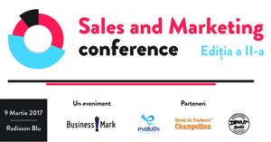 """""""Sales & Marketing Conference"""" – pe 9 martie, la București""""Sales & Marketing Conference"""" – pe 9 martie, la București"""