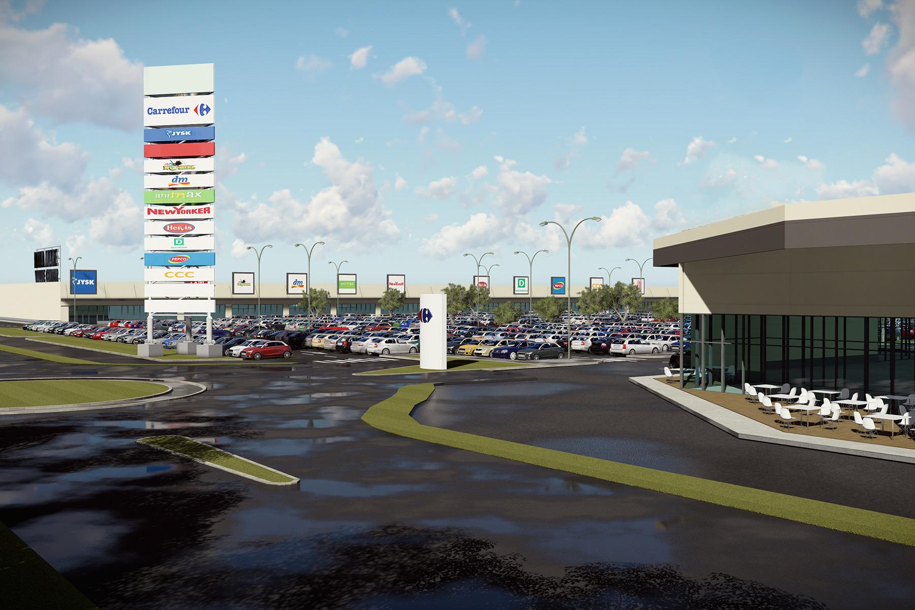 Primul mall din judeţul Covasna a fost inaugurat la Sfântu Gheorghe
