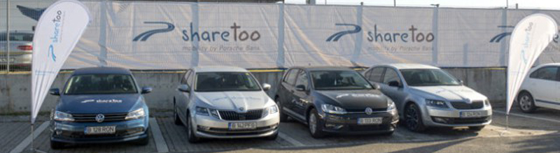 Porsche Finance Group lansează serviciul sharetoo în România