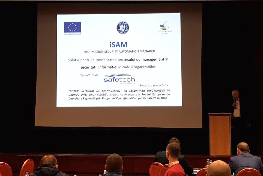Safetech Innovations a lansat iSAM, soluţie pentru automatizarea procesului de management al securităţii informaţiei în cadrul organizaţiilor