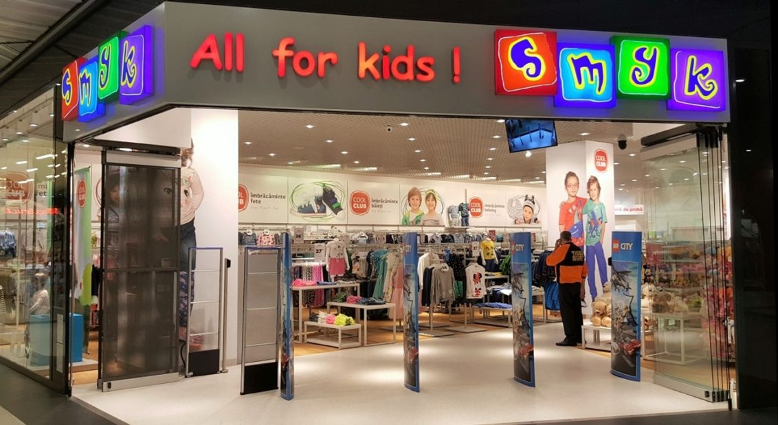 Retailerul SMYK All for Kids ajunge la o reţea de 21 de unităţi în România