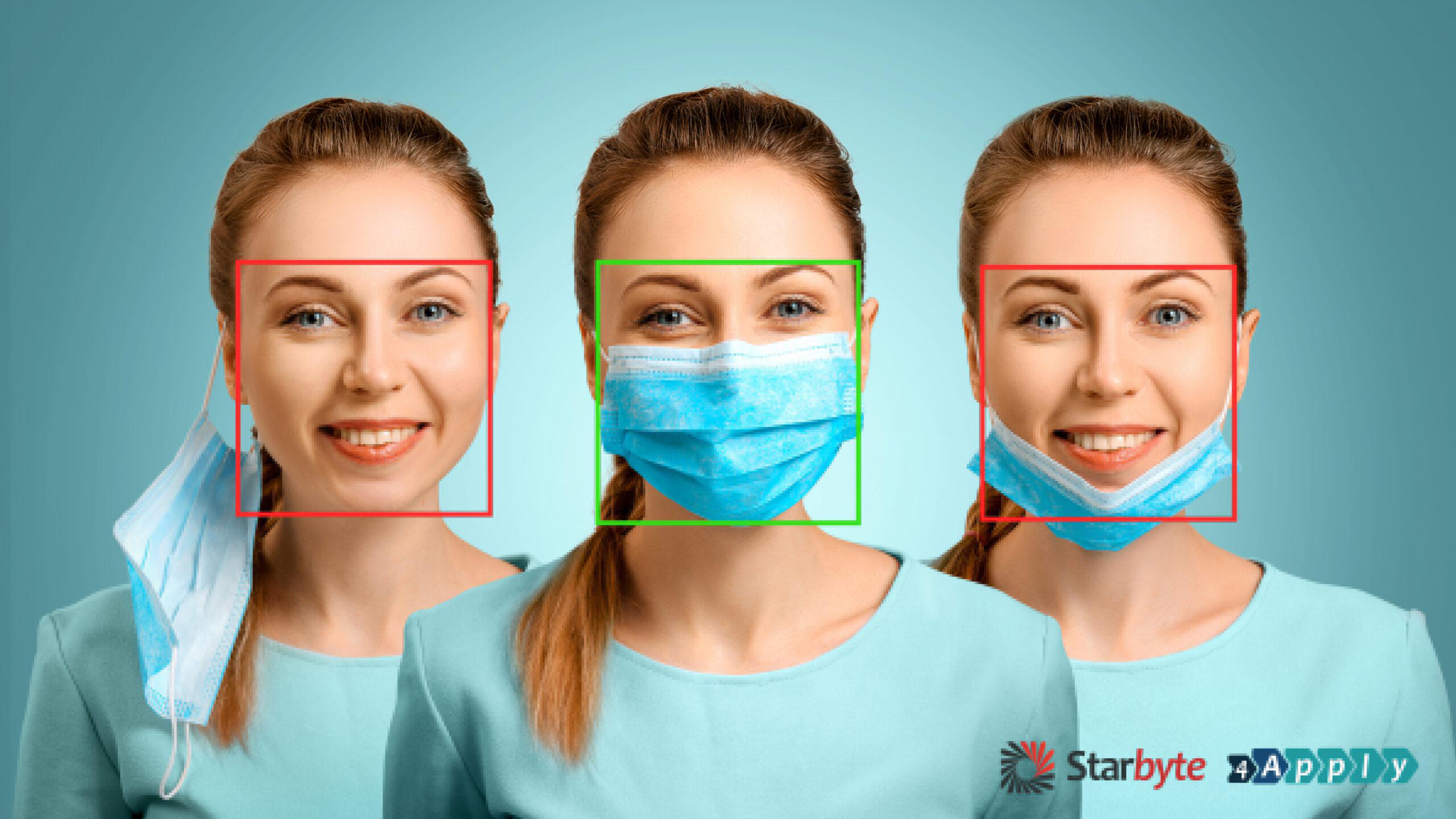 O companie românească a lansat aplicaţia ce poate diferenţia persoanele care poartă mască de cele care nu poartă
