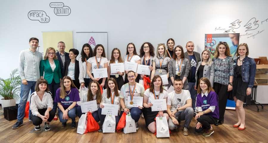 O echipă din România câștigă titlul de cea mai bună aplicație europeană în cadrul competiției internaționale Technovation Girls