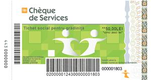 Tichete sociale de grădiniţă de la Up România sunt deja disponibile
