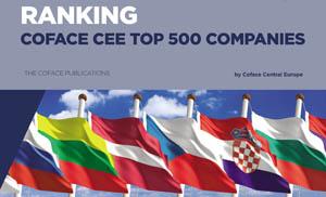 Dacia, OMV Petrom şi Rompetrol Rafinare, companiile româneşti din Top 500 Coface pentru Europa Centrală şi de Est