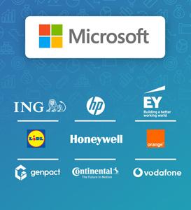 Microsoft, HP, Vodafone – în topul companiilor care oferă cele mai bune salarii și oportunități profesionale din România