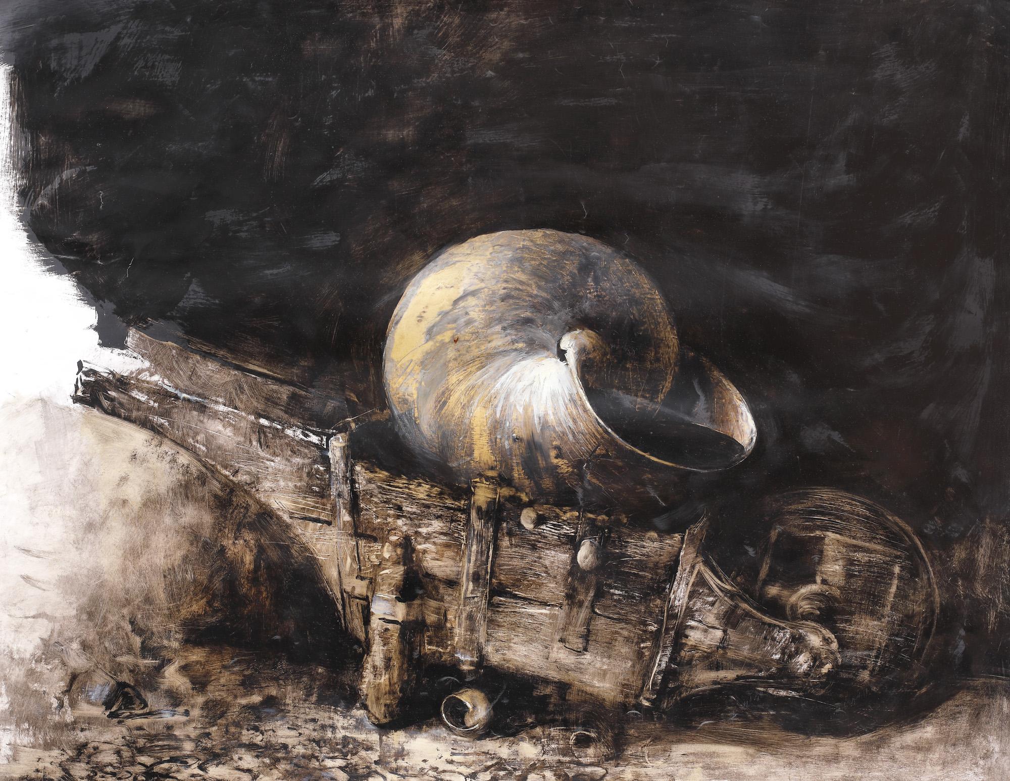 Două noi lucrări semnate de Adrian Ghenie, scoase la licitaţie de Artmark