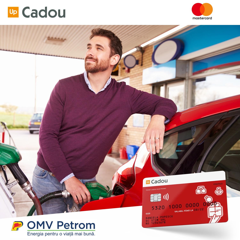 Parteneriat Up România și OMV PETROM prin care utilizatorii Up Cadou pot să alimenteze în benzinăriile OMV Petrom