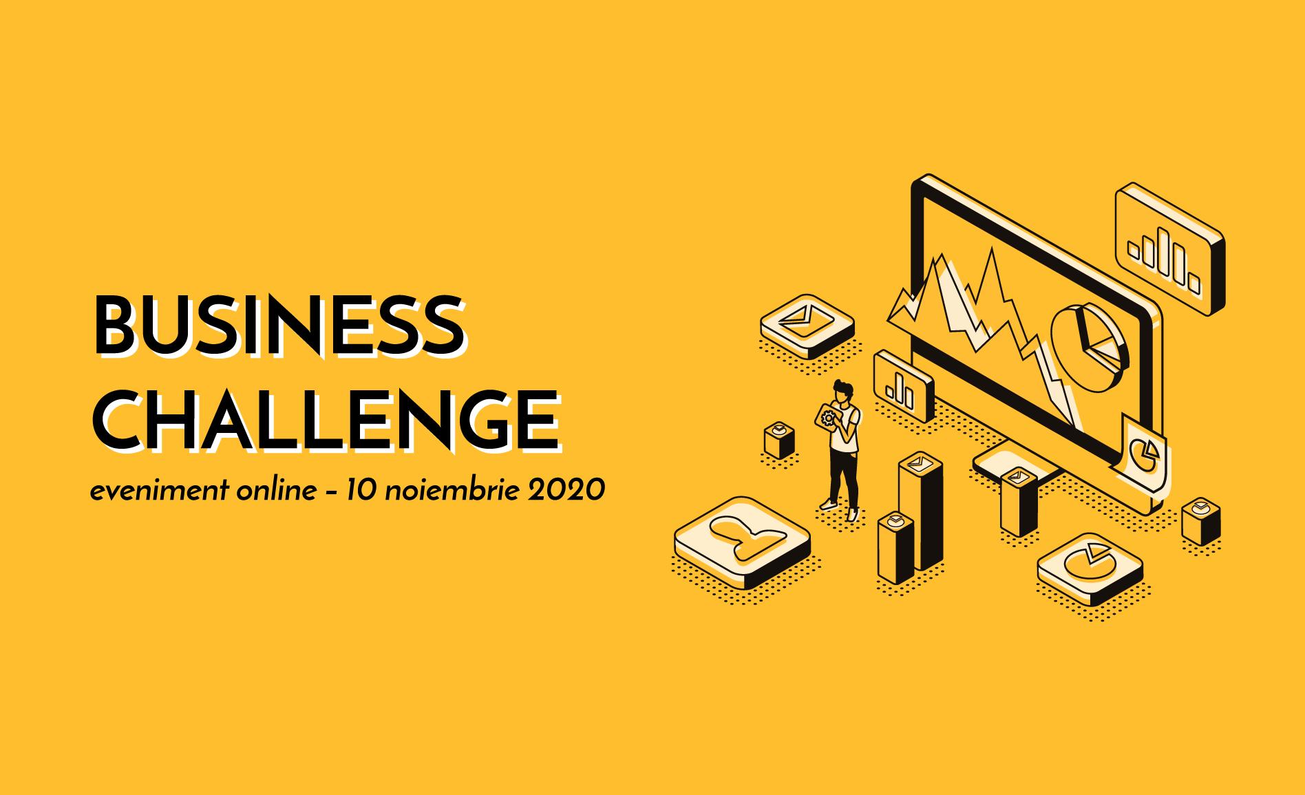 """Cea de-a VIII-a ediție a """"Business Challenge"""", eveniment dedicat antreprenorilor și companiilor mici și mijlocii, are loc pe 10 noiembrie"""