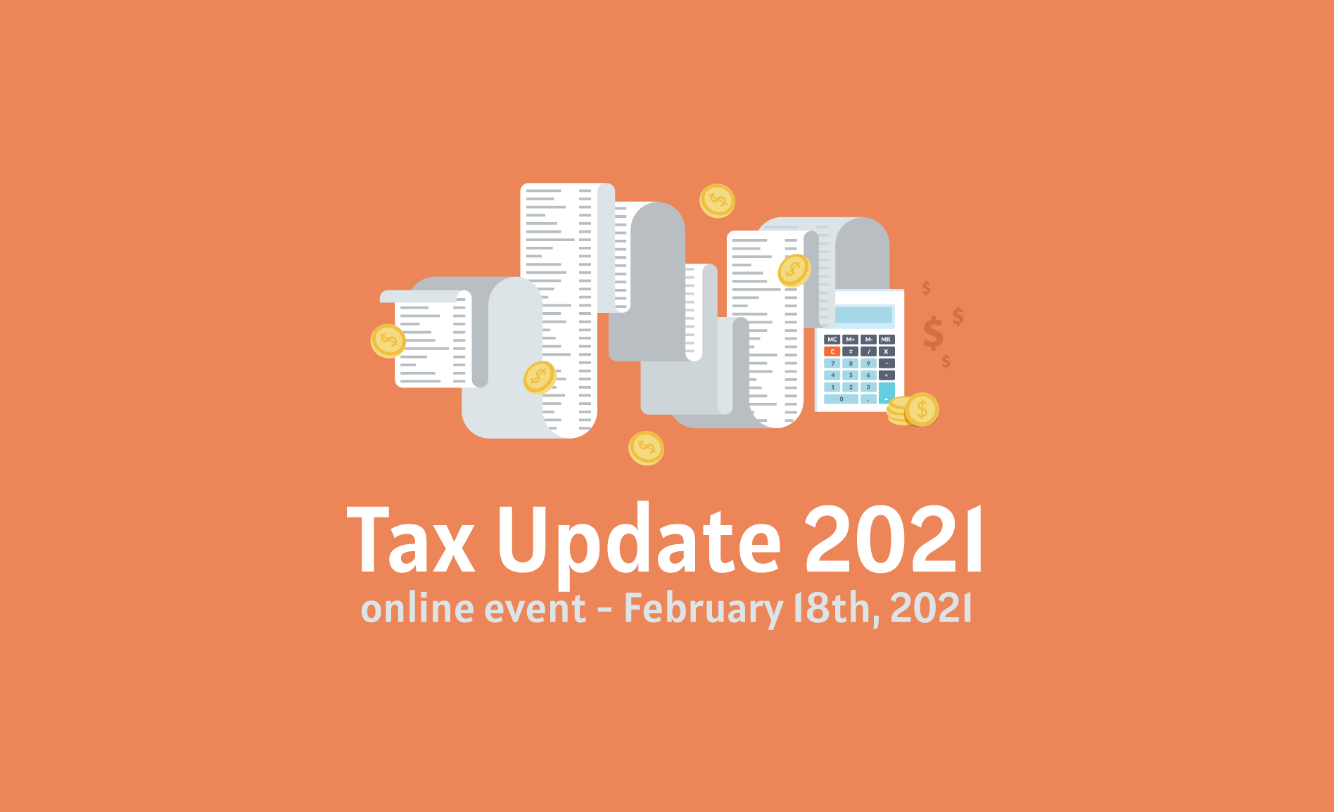 """Noutățile fiscale din acest an vor fi abordate pe 18 februarie la evenimentul online """"Tax Update 2021"""""""
