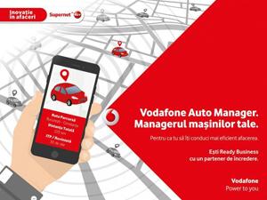 """Vodafone lansează, în premieră la nivel național, o soluție """"plug-and-play"""" pentru monitorizarea flotelor auto"""